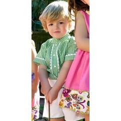 Conjunto niño camisa y pantalón gardenia