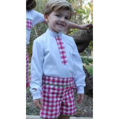 Conjunto niño camisa y pantalon colección Marina
