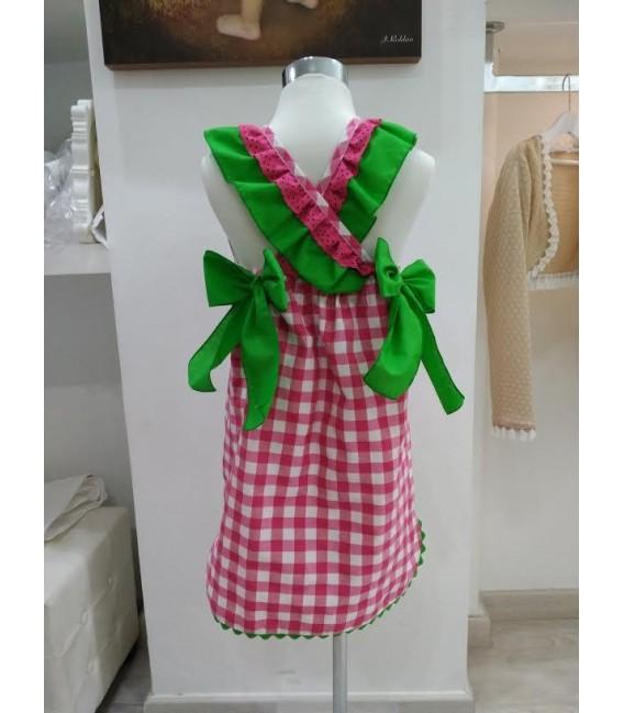 Blusón vestido niña colección Marina