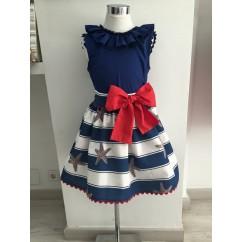 Conjunto de blusa y falda coleccion Estrella de Mar
