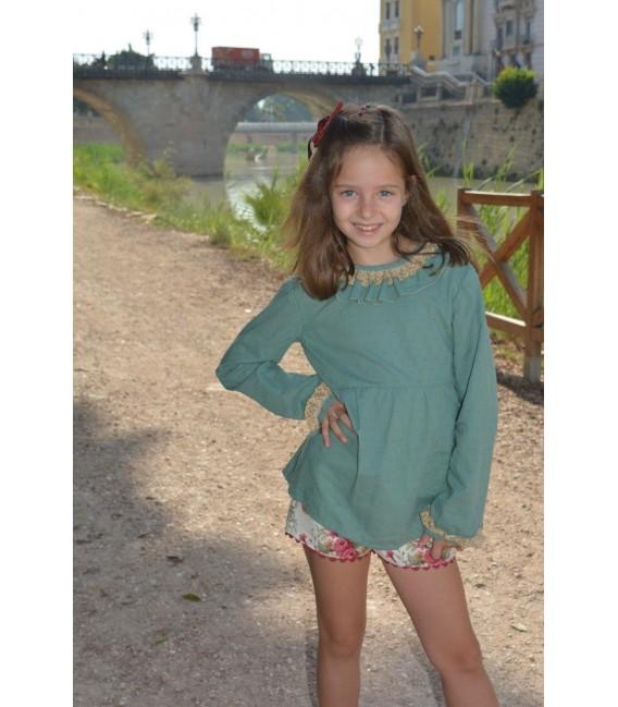 Camisa niña Praga