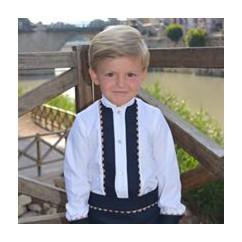 Conjunto niño camisa y pantalon Paris