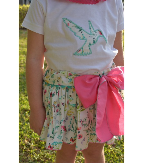 Braguita falda Colección Colibrí