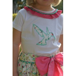 Camiseta niña Colibrí