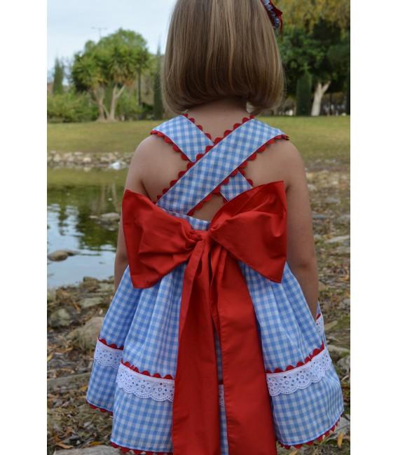 Vestido niña vuelo Colección Vela