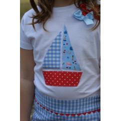 Camiseta niña colección Vela