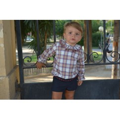 Conjunto blusa y pantalón bombacho niño Annetta