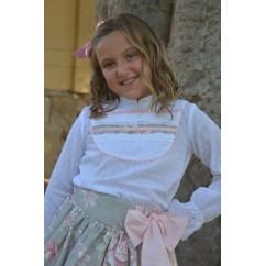 blusa niña Fiorella