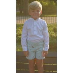 Camisa y pantalón niño Mía