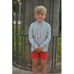 Conjunto de niño camisa y pantalon Stella