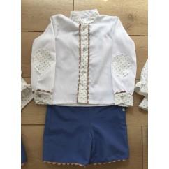 Conjunto niño camisa y pantalón Colección Julia