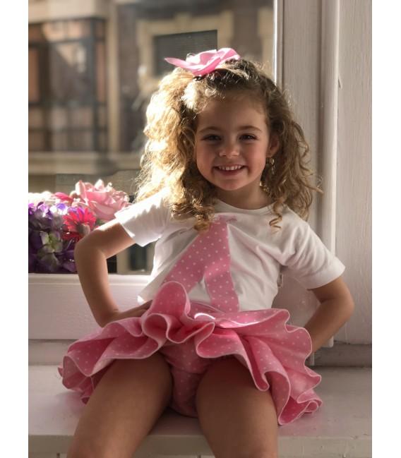 Braguita / Falda cintura ajustable Lila